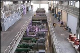 Inside of the city of Tampa's water treatment plant