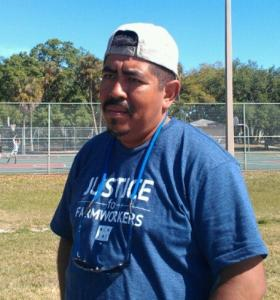 Lucas Benitez is co-founder of the Coalition of Immokalee Workers.