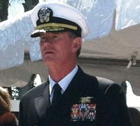 Admiral William McRaven, commander of US Special Operations Command.