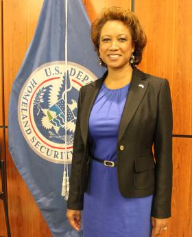 Then-Lt. Gov. Jennifer Carroll, who was born in Trinidad, spoke at a Feb. 28 ceremony for naturalized citizens like herself. Less than two weeks later, she resigned.
