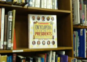 The Encyclopedia of the Presidents and Their Times at the Florida College Academy library.