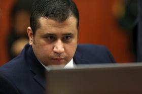 Pool photo of George Zimmerman during trial in a Seminole County courtroom