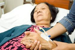 Hospices are paid to care for patients with terminal illness.