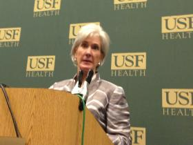 U.S. Health & Human Services Secretary Kathleen Sebelius