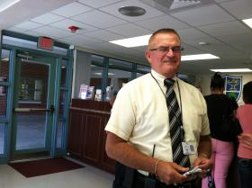 Principal Kenneth Hart took command at Monroe Middle School with the goal of raising its grade from a D to an A in two years and reestablishing their reputation with military families at MacDill.