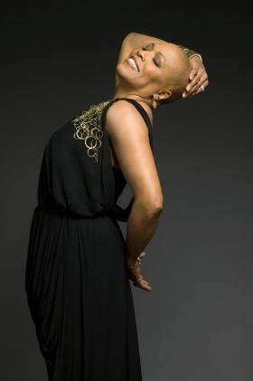 Dee Dee Bridgewater looks pretty happy about WUSF's all-night jazz programming.