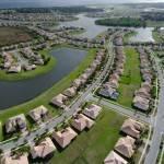 Subdivision Sprawl near Orlando