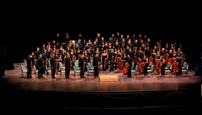 The National Symphony Orchestra of Cuba