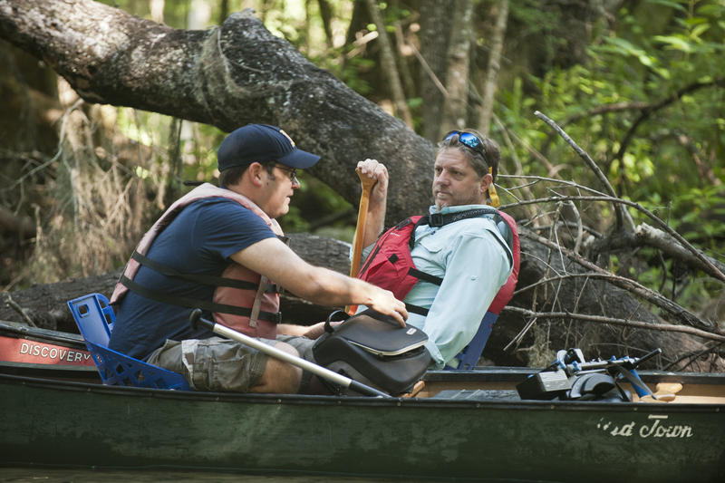 WUSF's Scott Finn and Tampa Bay Times outdoor editor Terry Tomalin explore the wild Upper Hillsborough River.