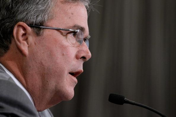 Former Florida Gov. Jeb Bush speaks to a U.S. House committee earlier this month.