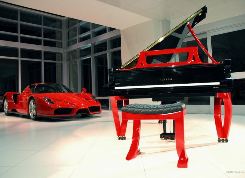 Justin Elliott's Grand Rossa piano