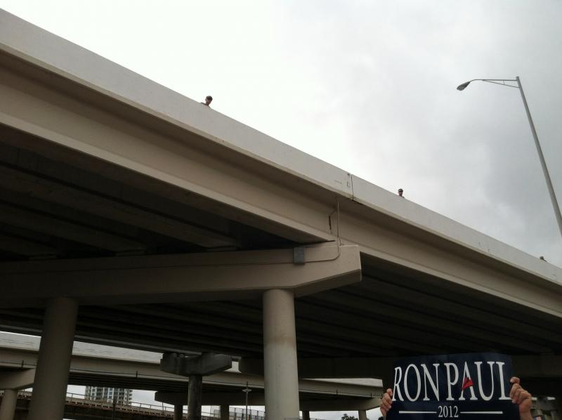 Keeping a watch from the Selmon Expressway