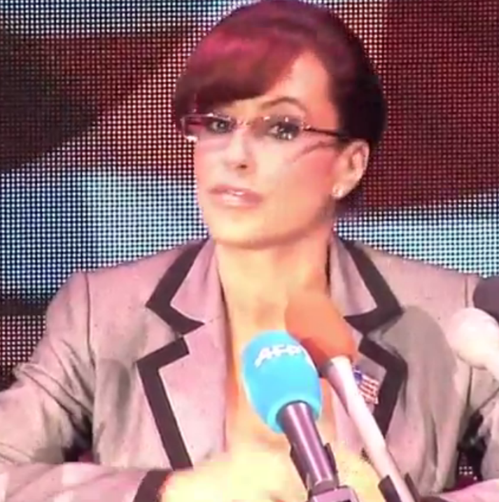 Lisa Ann--an adult film star who impersonates Sarah Palin--speaks out about a STD outbreak in the adult film industry while in Tampa.