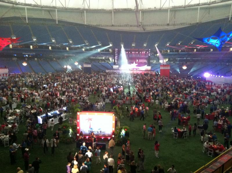 Party's on at the Trop