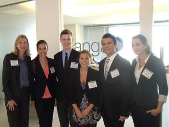 USF Advanced PR course representatives at ANGA's DC offices