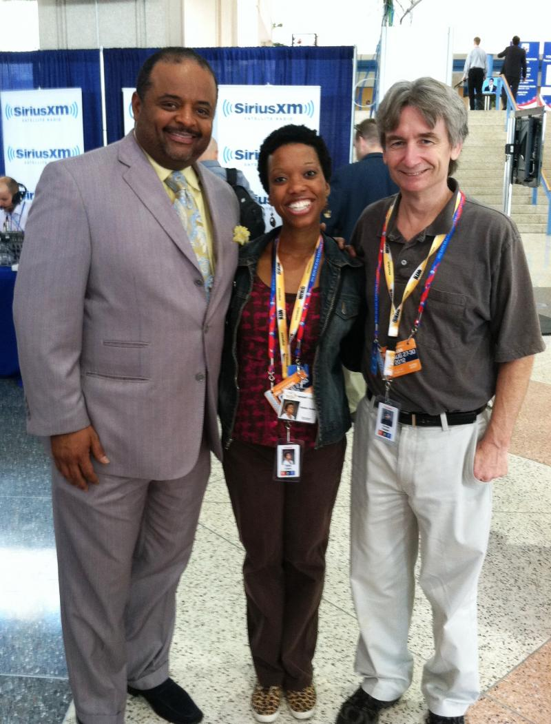 Florida Matters: The Convention host Carson Cooper and producer Dalia Colon meet journalist Roland Martin