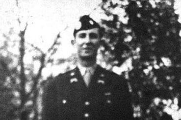 "Captain Sam Gibbons of the famous 101st Airborne ""Screaming Eagles"""