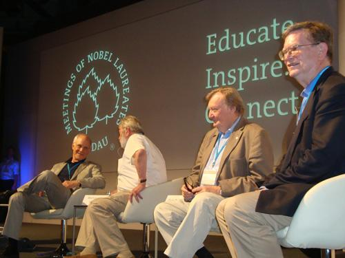 Award-winning panelists at 2012 Lindau Nobel Laureate Meetings