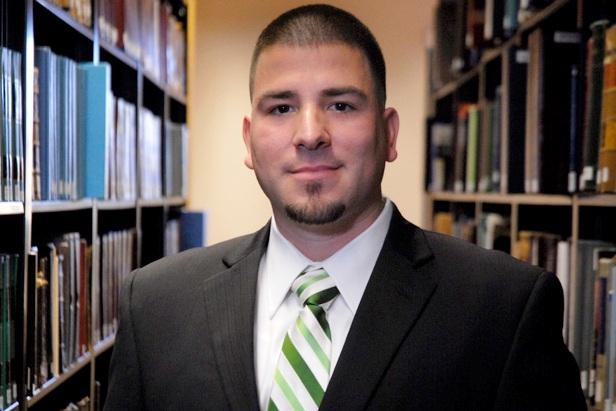 Marine veteran Javier Centonzio graduated from Stetson College of Law in 2012 and is now clerking at the U.S. Court of Appeals for Veterans Claims.