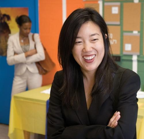 Michelle Rhee, former leader of Washington D.C.'s public school system, is scheduled to be a guest on the Tell Me More/StateImpact Florida program.
