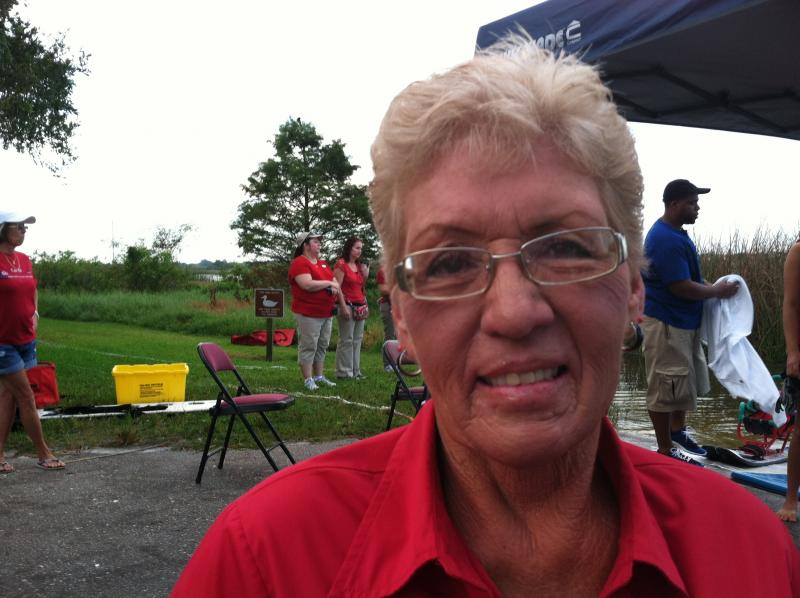 Ann O'Brine is founder of U Can Ski 2 - a volunteer organization that makes water skiing available to disabled.