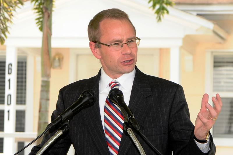 Professor Michael Allen serves as director of the Stetson Veterans Law Institute.