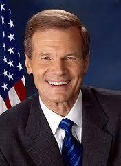 Senator Bill Nelson: bearer of out-of-this-world news.