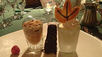 """Sweet Endings,"" a trio of desserts at HospitaBull"