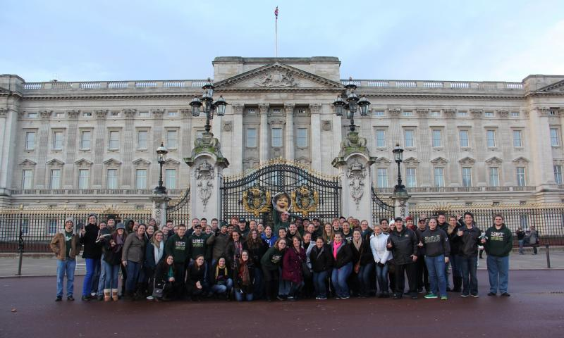 The Herd toured London during the weeklong visit