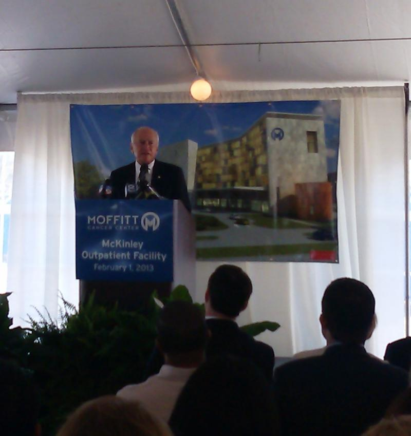 Moffitt Cancer Center founder/namesake, former Fl. Speaker H. Lee Moffitt