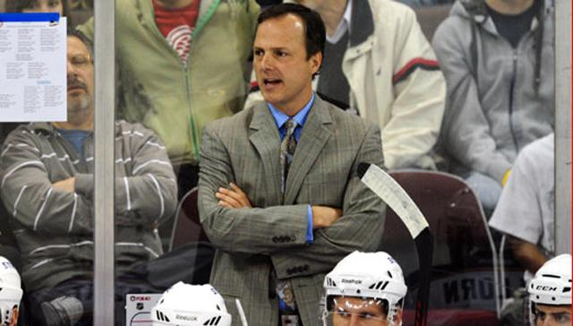 Jon Cooper behind the bench