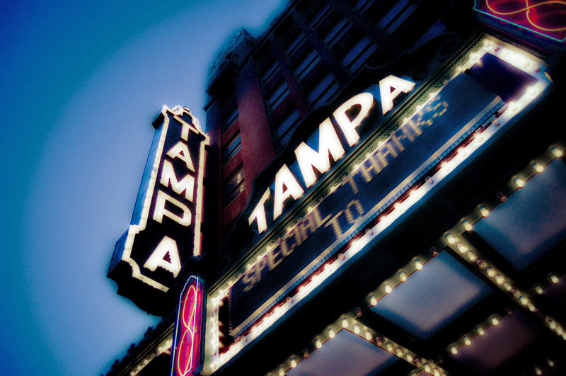 Tampa Theatre was designed by Chicago architect John Eberson.