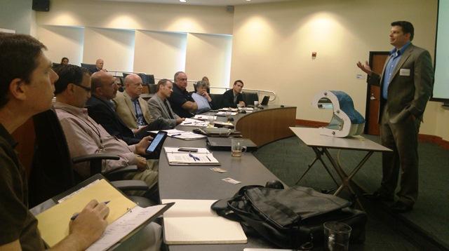 Judges listen to Nautilida Solar's Joseph Arthur