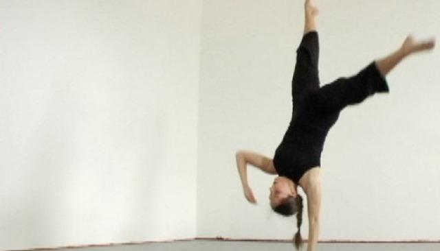 "Heather Maloney, choreographer of ""unquiet | body"""
