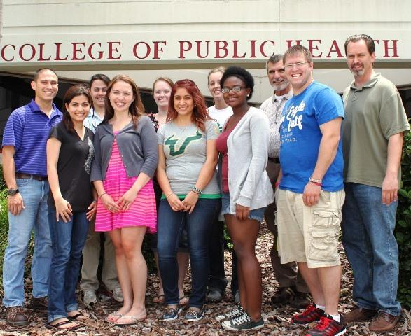 The class of the 2013 USF Summer Institute in Occupational Health & Safety