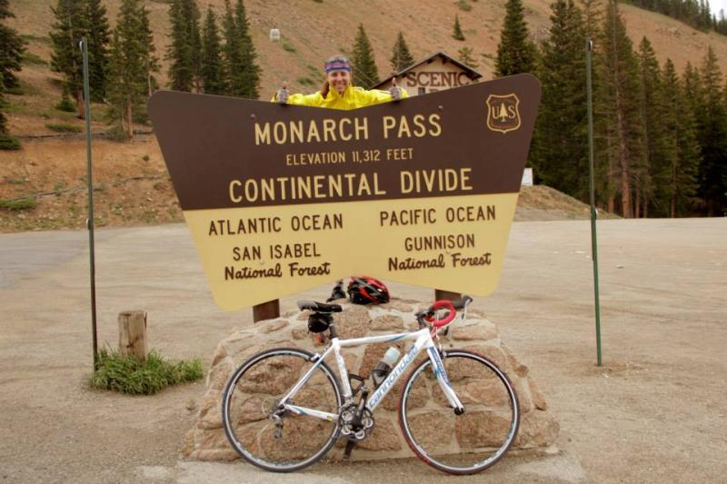 Monarch Pass is the higest summit Downs climbed while crossing the Rockies.