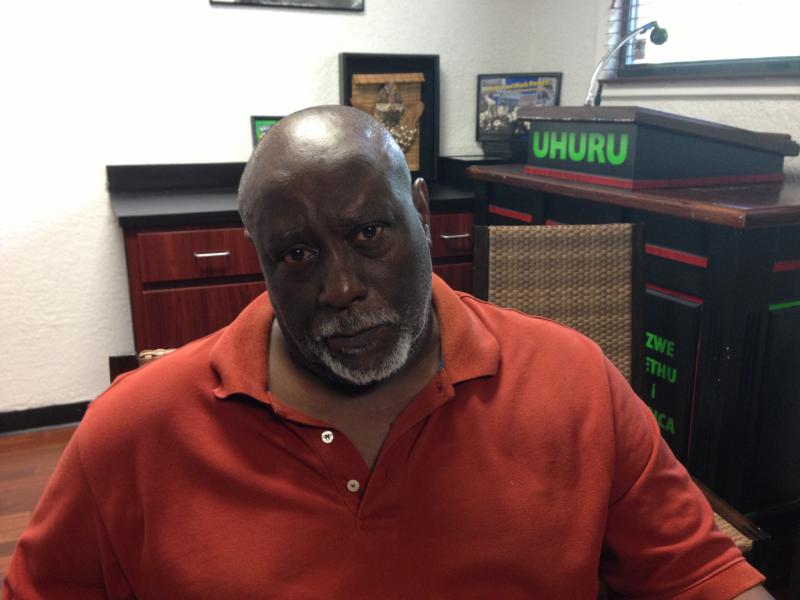 Chimurenga Waller is secretary of the St. Petersburg Uhuru movement, which plans to protest Friday at the Seminole County Courthouse.