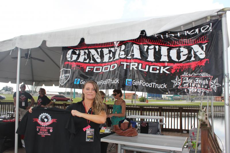 Candy Gomez of Generation Food Truck organized the event with her husband, Jeremy Gomez.