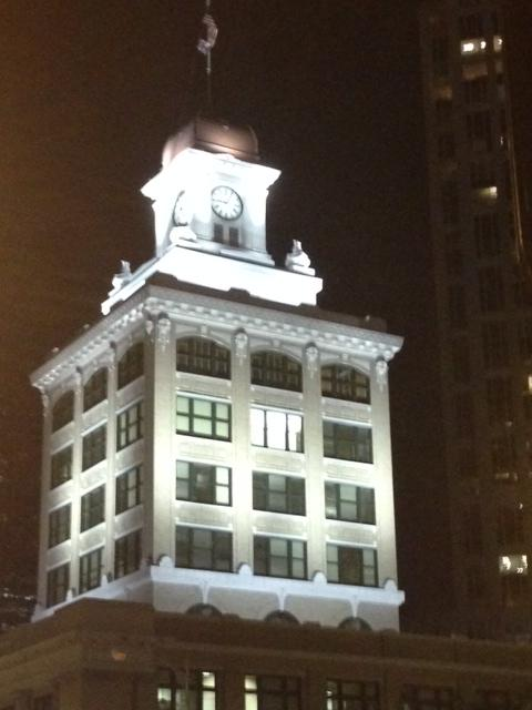 Hortense Oppenheimer, a Tampa socialite who got the clock constructed, is said to have made an appearance just last year.
