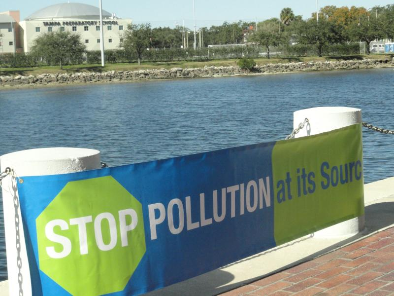 The Hillsborough River is one of the bodies of water considered contaminated with pollutants.