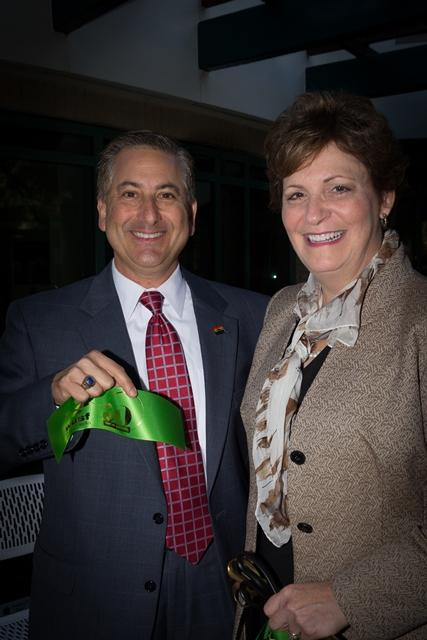 St. Petersburg Mayor Rick Kriseman & WUSF General Manager JoAnn Urofsky