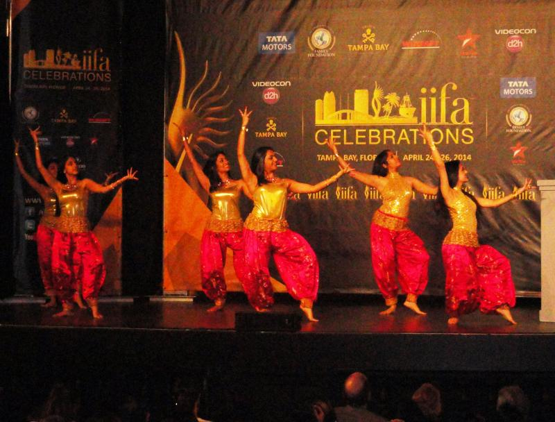 Dancers perform at the event