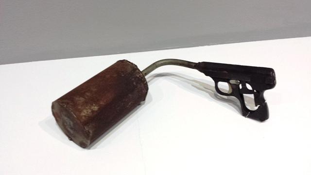 pistol 'shaker'