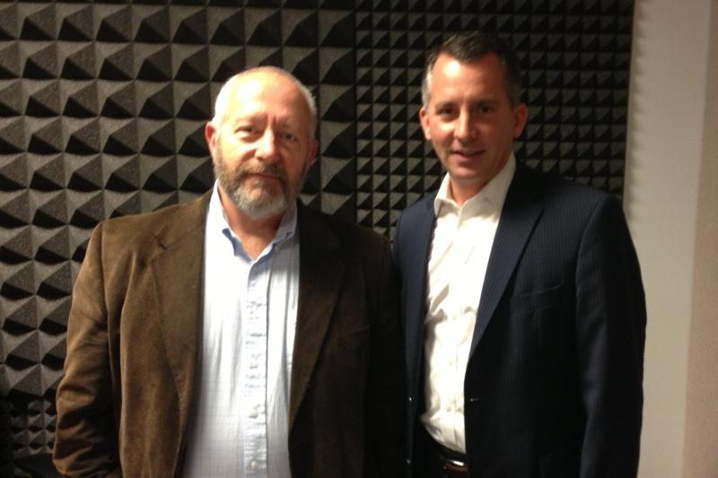 David Jolly with WUSF's Craig Kopp