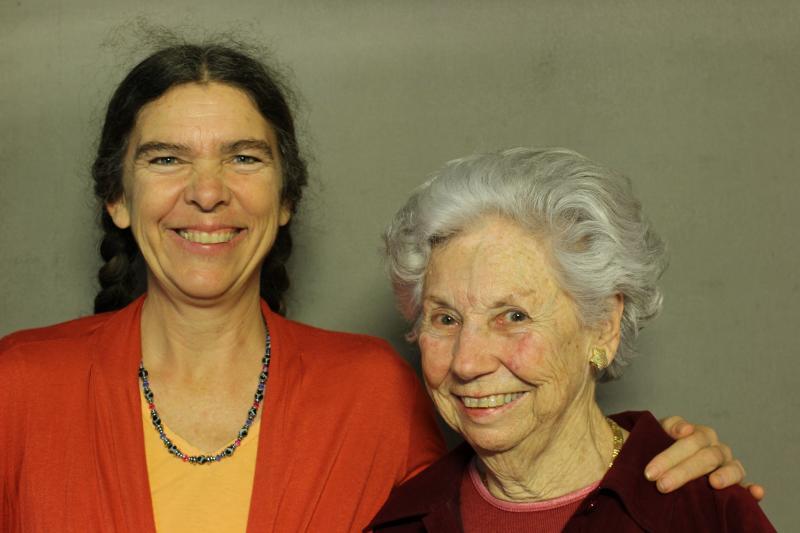 Laura Shepherd and Joan Dunn