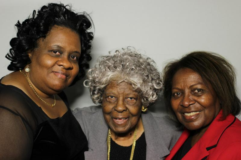 Linell Pleas, Daisy Valentine and Betty Harden