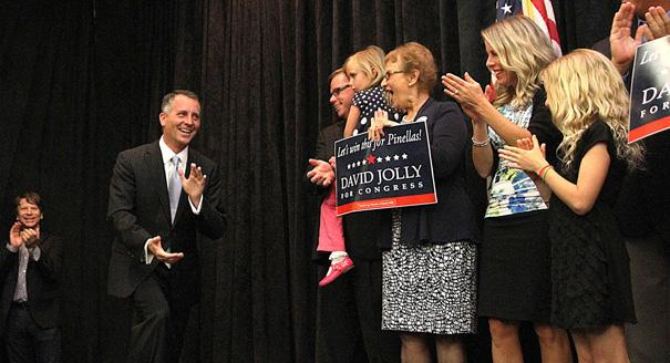 "Republican David Jolly won the special election in the 13th Congressional District. He replaces the late C.W. ""Bill"" Young."