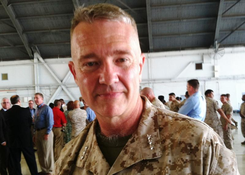 Lt. Gen. Kenneth McKenzie is the new commander of Marine Forces under US Central Command, also known as MARCENT.