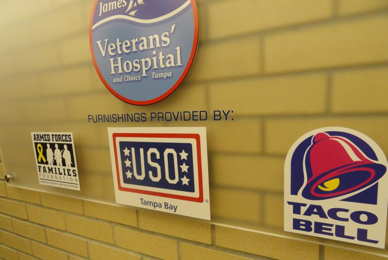 This is the first USO Day Room to be opened inside of a VA Medical Center.