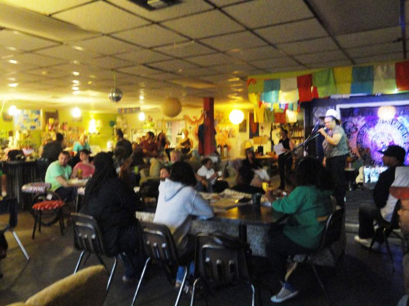Veterans Open Mic Night in October attracted more than 40 performers and supporters for three hours of entertainment.